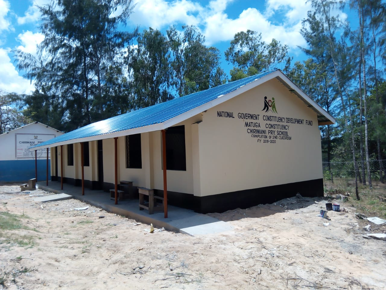 Construction of 2 classroom at Chirimani Primary School